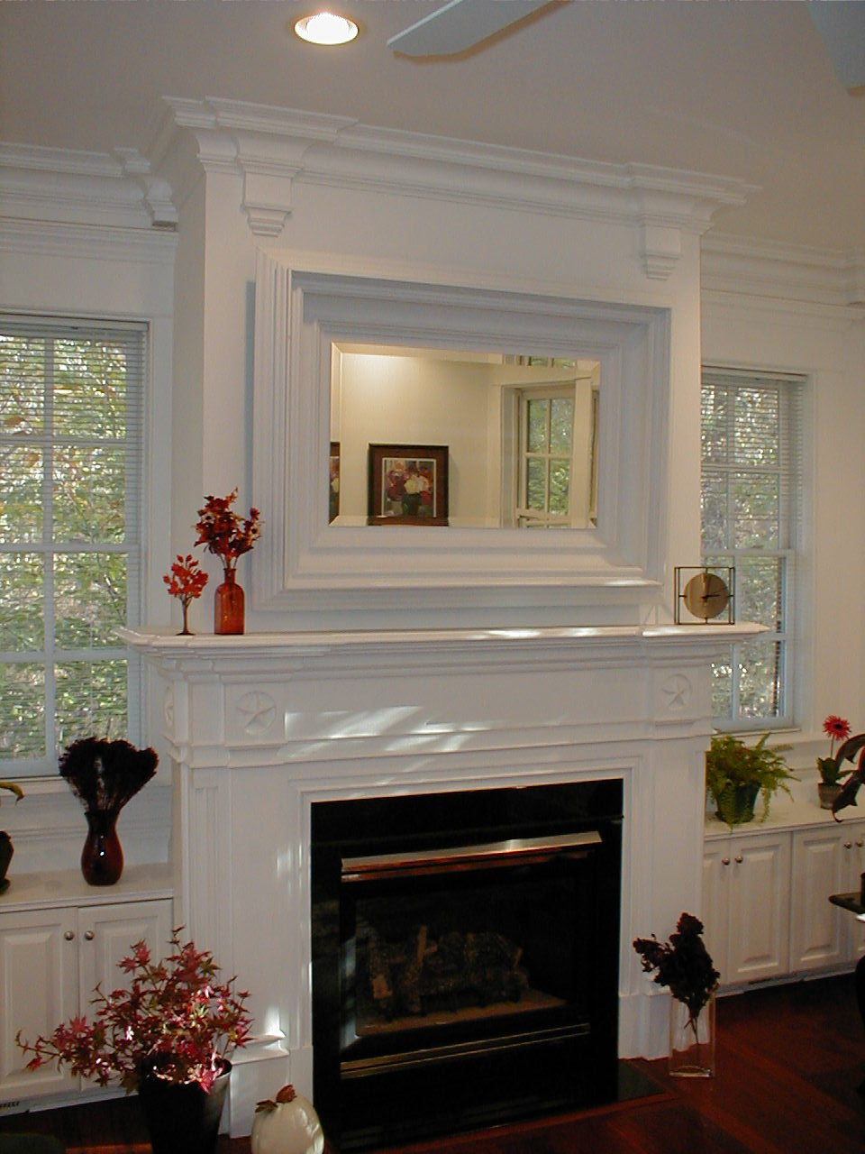 Wooden Living Room Doors